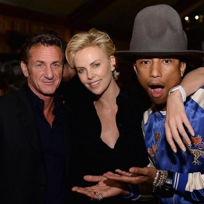 Sean Penn, Charliza Theron, Pharrell Williams