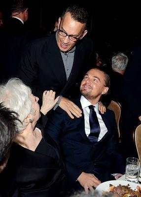 Thelma Schoonmaker, Tom Hanks, Leonardo DiCaprio