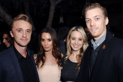Tom Felton, Jade Gordon, Allie Wood, Jake Abel