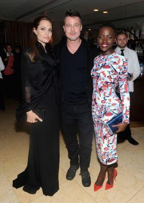 Angelina Jolie, Brad Pitt, Lupita Nyong'o