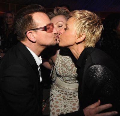 Bono, Portia De Rossi, Ellen DeGeneres