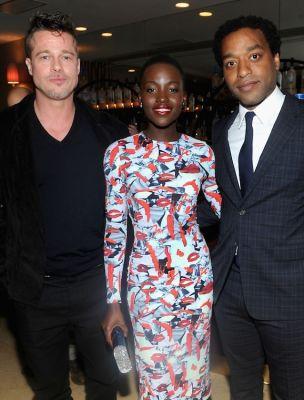 Brad Pitt, Lupita Nyong'o, Chiwetel Ejiofor