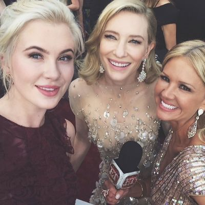 Ireland Baldwin, Cate Blanchett, Nancy O'Dell