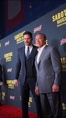 Joe Manganiello, Arnold Schwarzenegger