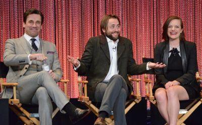 Jon Hamm, Vincent Kartheiser, Elisabeth Moss