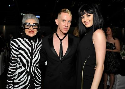 Joy Venturini, Jeremy Scott, Katy Perry