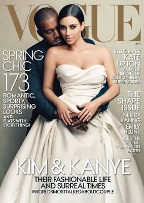 "Quote Of The Day: ""You May Have Read That Kanye Begged Me To Put His Fiancée On Vogue's Cover...He Did Nothing Of The Sort"""