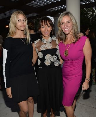 Kenya Kinski, Rashida Jones, Jane Buckingham