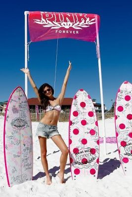 Victoria'a Secret PINK Model Sara Sampaio Hosts PINK Nation Spring Break