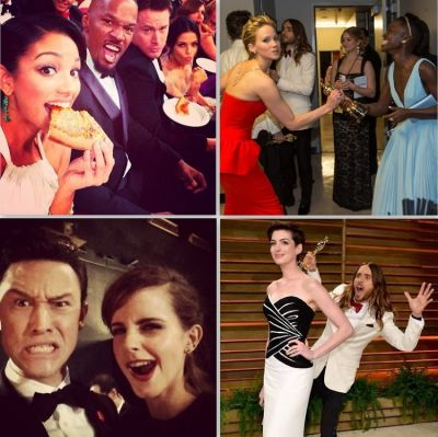 Instagram Round Up: Our Favorite Moments From The 2014 Oscars