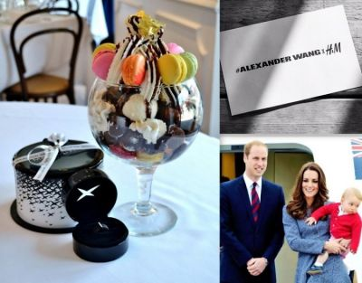 Bagatelle, Prince William, Kate Middleton, Alexander Wang x H&M