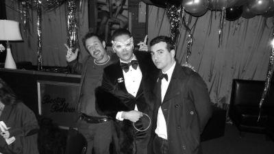 David Arquette, Markus Molinari, John Terzian