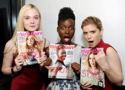 Elle Fanning, Lupita Nyong'o, Kate Mara