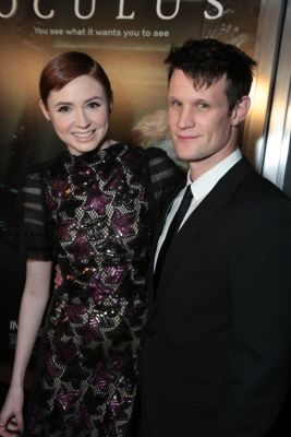 Karen Gillan, Matt Smith
