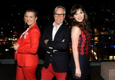 Krista Smith, Tommy Hilfiger, Zooey Deschanel