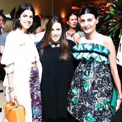 Leandra Medine, Mary Katrantzou, Giovanna Battaglia