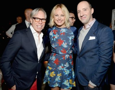Tommy Hilfiger, Malin Akerman, Tony Hale
