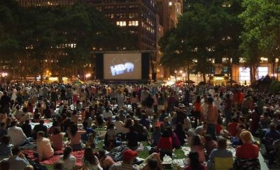 Bryant Park Outdoor Movie