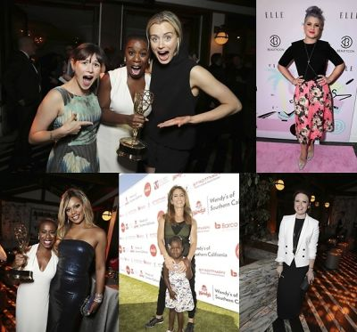 Last Night's Parties: Taylor Schilling & Laverne Cox Celebrate At Netflix's Creative Arts Emmy Party & More!