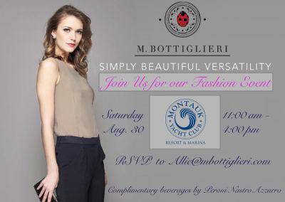 You're Invited: M. Bottiglieri Launch At The Montauk Yacht Club