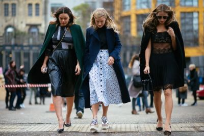 London Fashion Week Street Style: Part 3 With Salma Hayek, Kate Foley & Florence Welch