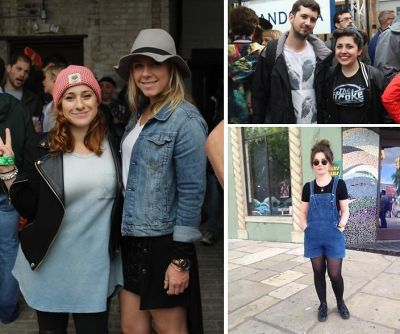 SXSW Street Style Part 2: Festival Fashion In The Rain