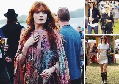 Best Dressed Guests: It-Brits At Glastonbury Festival 2015