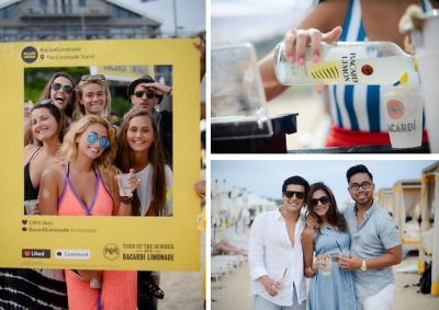 Turn Up The Summer With Bacardi Limonade Beach Party At Gurney's Montauk