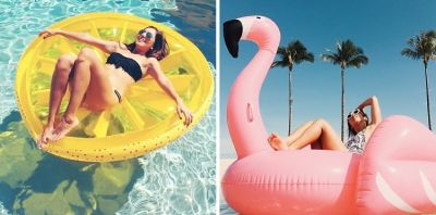 Why You Should Splurge On A #LuxInflatable This Summer