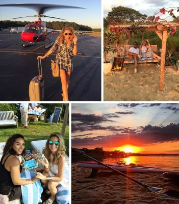 Inside The #LightBlueSummer VIP Weekend In Montauk