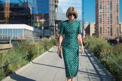Fashion Week Street Style: Day 7 With Anna Wintour & Hailey Baldwin