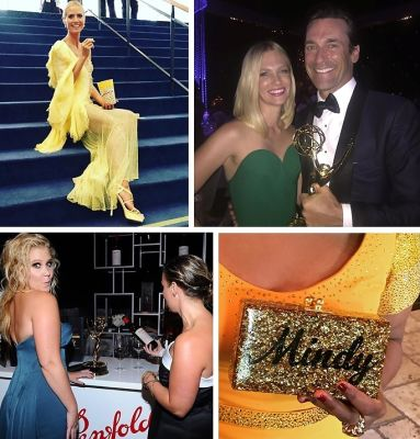 Instagram Round Up: The Best Celebrity Snaps At The 2015 Emmy Awards
