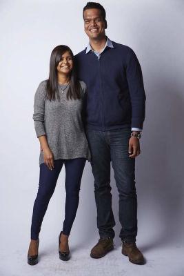 Aarthi Ramamurthy And Sriram Krishnan
