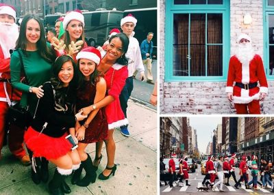 Instagram Round Up: SantaCon 2015 Takes Over NYC