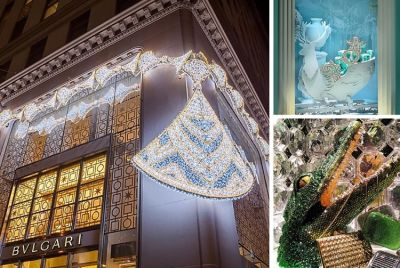 Your Guide To The Haute Holiday Windows Of NYC