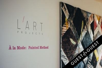 L'Art Projects Presents À la Mode: Painted Method