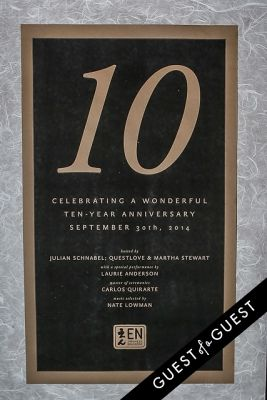 EN Japanese Brasserie 10th Anniversary Celebration