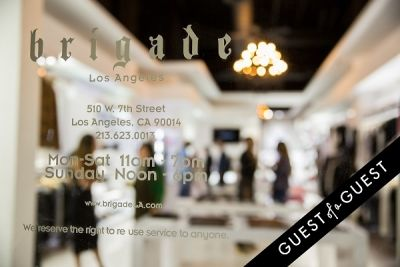 WILLIAM Sample Sale at Brigade LA