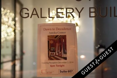 Dawn to Decadence: A solo show of paintings by Annika Connor