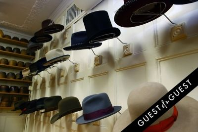 charlotte ronson in Stetson and JJ Hat Center Celebrate Old New York with Just Another, One Dapper Street, and The Metro Man