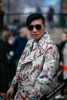jenna lyons in London Fashion Week Pt 3
