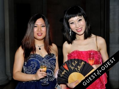gianna guo in The Frick Collection Young Fellows Ball 2015