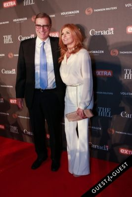 lee maen in The Hill And Extra WHCD Party @ The Canadian Embassy