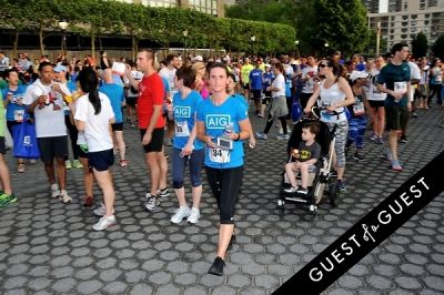 avicii in Amer. Heart Assoc. Wall Street Run and Heart Walk - gallery 3