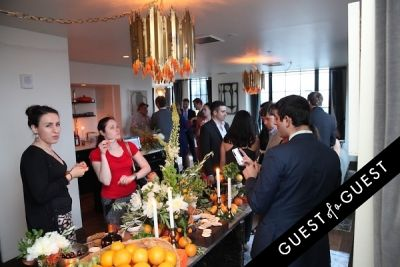 courtin clarins-girls in Guest of a Guest & Cointreau's NYC Summer Soiree At The Ludlow Penthouse Part I