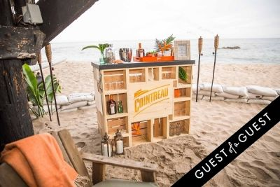 Cointreau Malibu Beach Soiree Set Up