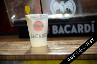 jimmy fallon in Turn Up The Summer with Bacardi Limonade Beach Party at Gurney's