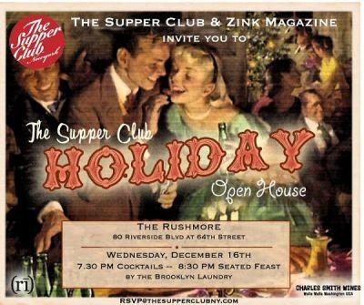 The Supper Club & Zink Magazine host a Winter Wonderland