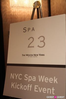 Spa Week Kickoff Party