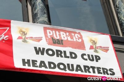 USA World Cup Game at Public Bar